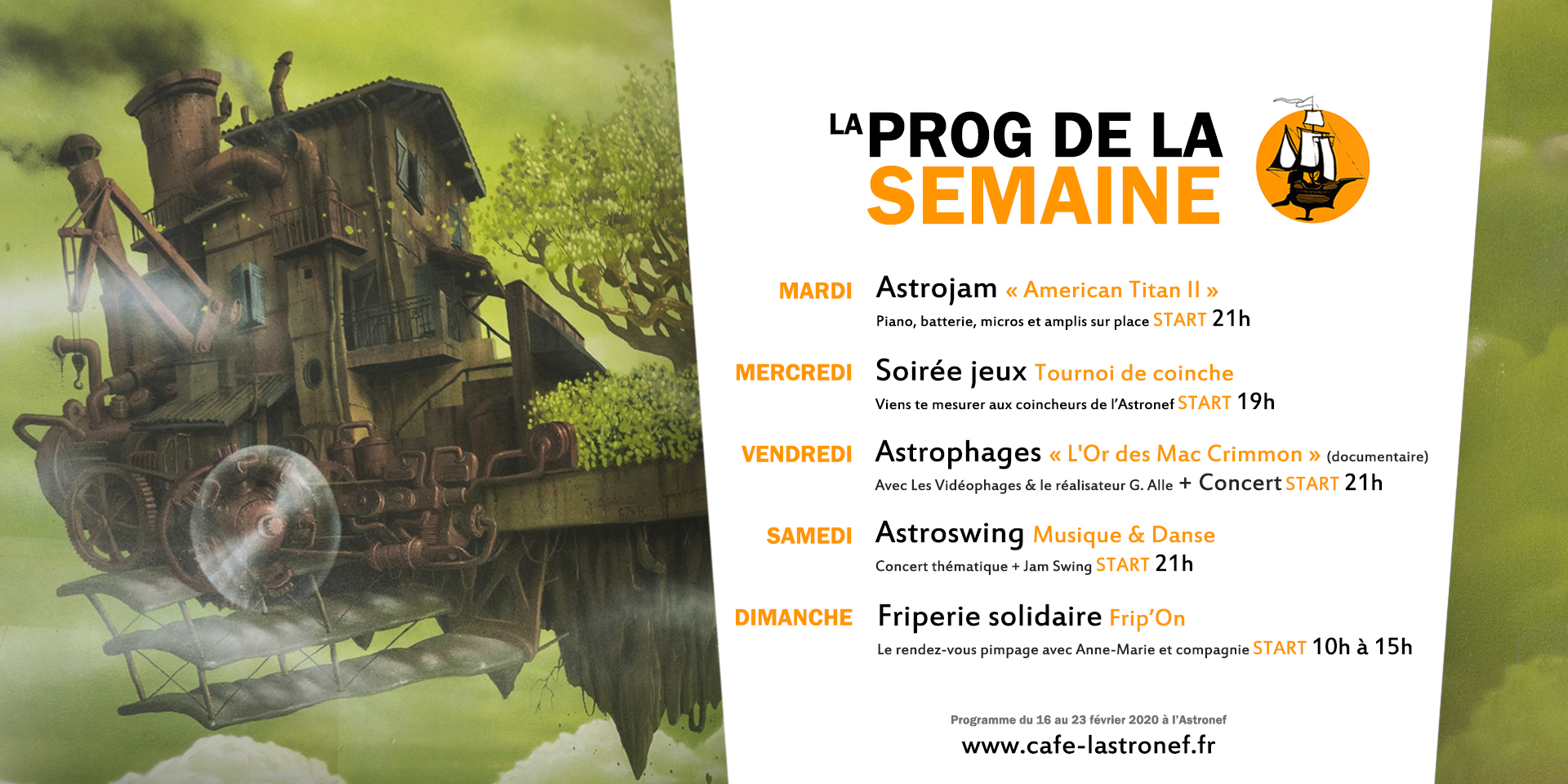programme Astronef fevrier Toulouse