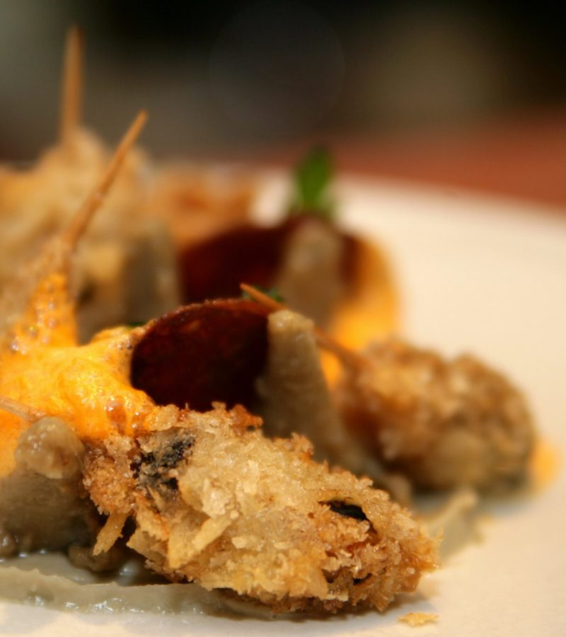 Artichauds,moules,chorizo